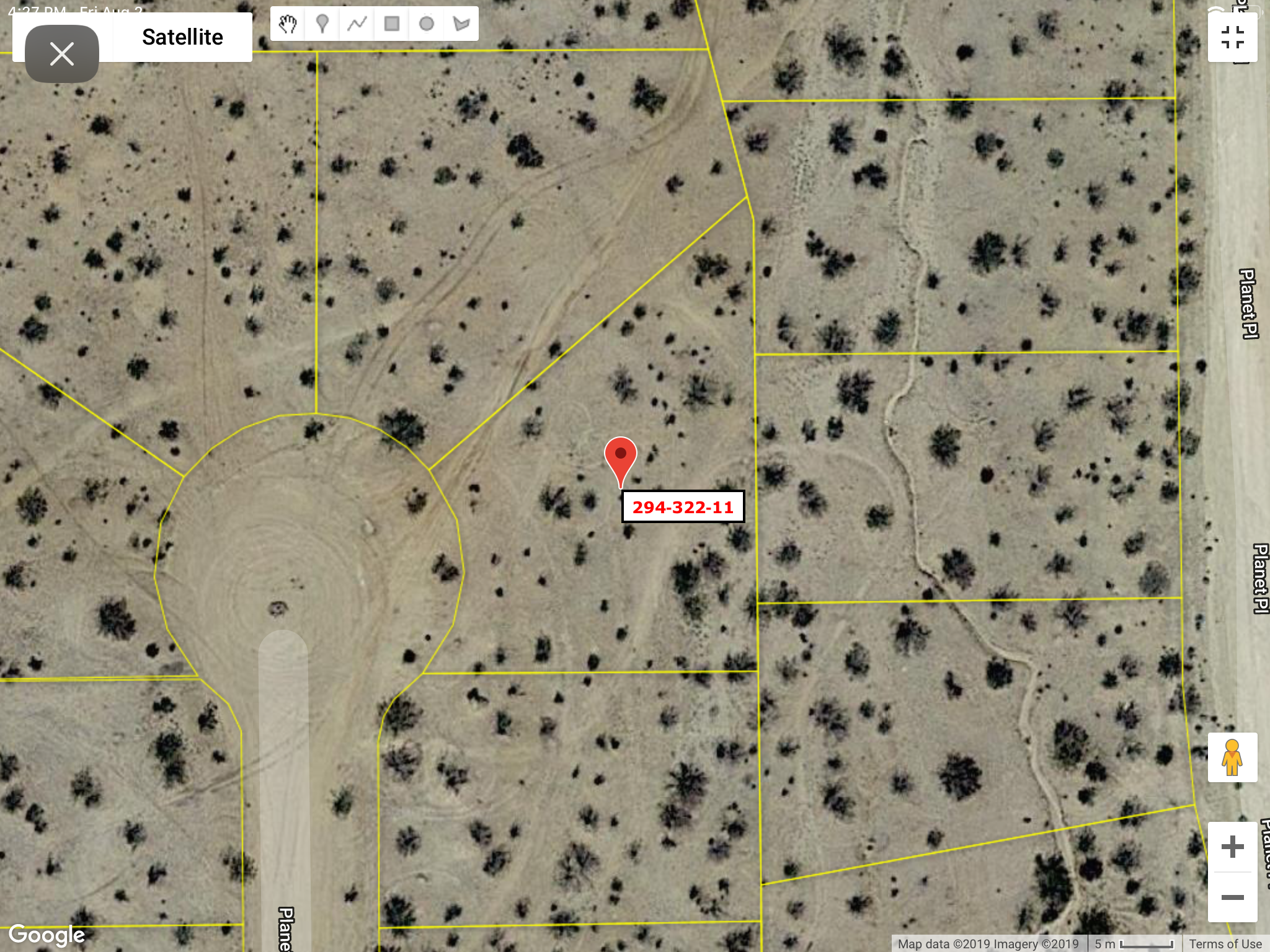 Residential Land California City Ca 12 500 Sq Ft